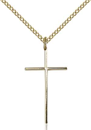 0014LGF/18GF <br/>Gold Filled Cross Pendant