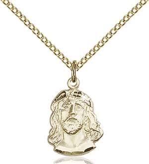 0081GF/18GF <br/>Gold Filled Ecce Homo Pendant