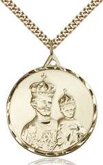 0201KGF/24G <br/>Gold Filled St. Joseph Pendant
