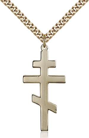 0241GF/24G <br/>Gold Filled St. Andrew Pendant