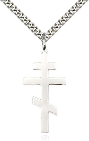 0241SS/24S <br/>Sterling Silver St. Andrew Pendant
