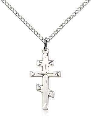 0250SS/18SS <br/>Sterling Silver Cross Pendant