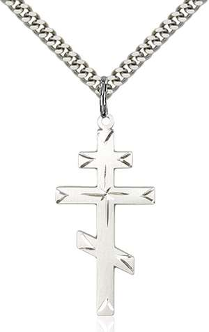 0251SS/24S <br/>Sterling Silver Cross Pendant