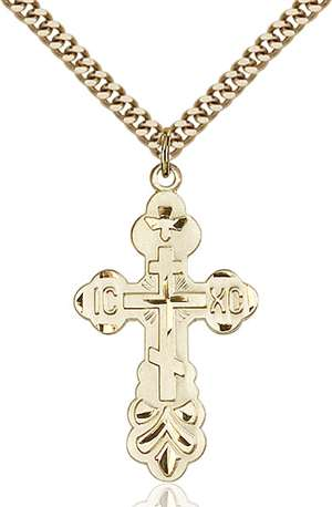 0260GF/24G <br/>Gold Filled Cross Pendant