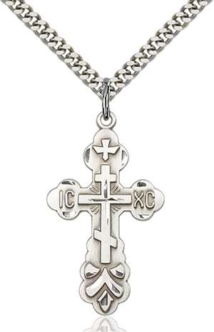 0260SS/24S <br/>Sterling Silver Cross Pendant