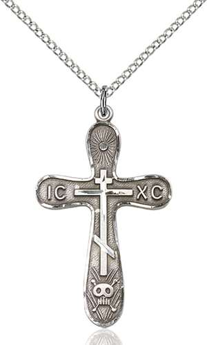 0263SS/18SS <br/>Sterling Silver Cross Pendant