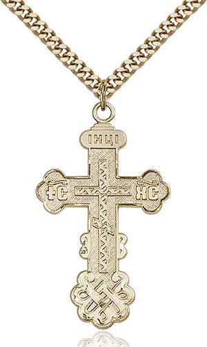 0269GF/24G <br/>Gold Filled Cross Pendant