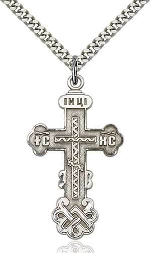 0269SS/24S <br/>Sterling Silver Cross Pendant
