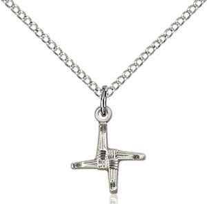 0291SS/18SS <br/>Sterling Silver St. Brigid Pendant