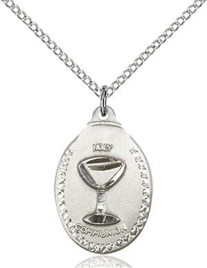 0599WSS/18SS <br/>Sterling Silver Communion Pendant