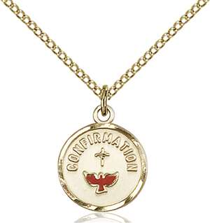 0601XGF/18GF <br/>Gold Filled Confirmation Pendant