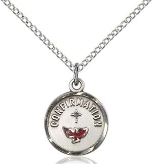 0601XSS/18SS <br/>Sterling Silver Confirmation Pendant