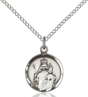 0603SS/18SS <br/>Sterling Silver O/L of Consolation Pendant