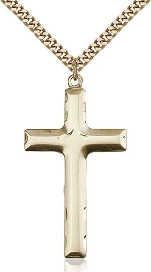 0644YGF/24G <br/>Gold Filled Cross Pendant
