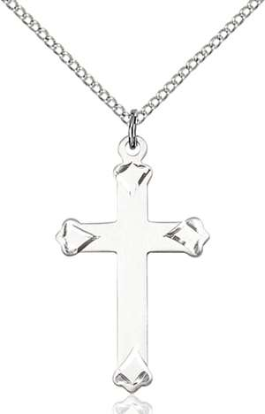 0651YSS/18SS <br/>Sterling Silver Cross Pendant