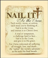 Nail It to the Cross Magnet