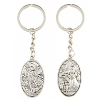 Guardian Angel/St. Michael Key Chain