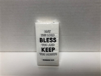 May the Lord Bless You Tissues Pack, 3 Ply, 10 Tissues