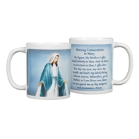Blessed Mother Morning Consecration Coffee Mug