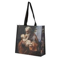 Beloved Devotions (St. Joseph) Large Eco-Friendly Tote Bag