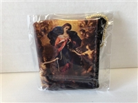 Mary, Untier of Knots Zippered Rosary Case, 3x2