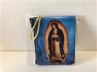 Our Lady of Guadalupe Zippered Rosary Case, 3x2