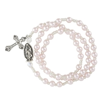 Our Lady of Guadalupe Wrap Style Rosary Bracelet