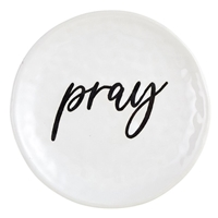 "4"" Pray Prayer Dish"