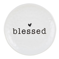 "4"" Blessed Prayer Dish"