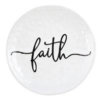 "4"" Faith Prayer Dish"