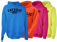 Catholic Original Neon Hoodies
