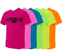 Catholic Original Neon T-Shirt