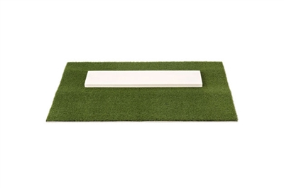 Pro-Ball Softball Pitching Mat, Green - 2 feet x 3 feet