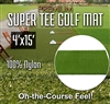 Premium Super Tee Golf Mat - 4 feet x 15 feet