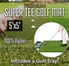 Premium Super Tee Golf Mat with Tray - 5 feet x 5 feet