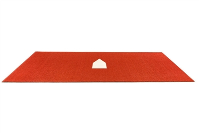Baseball Stance Mat - 6 feet x 12 feet - Throw Down Home Plate