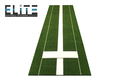 Elite Pitching Mat - Green