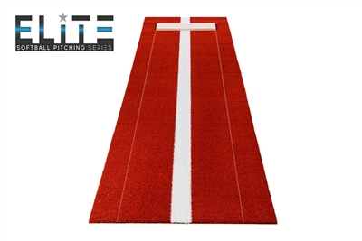 Elite Pitching Mat - Clay