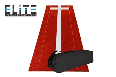 Elite Travel Pitching Mat - Clay