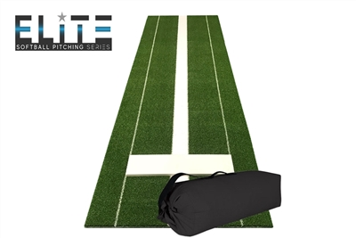Elite Travel Pitching Mat - Green