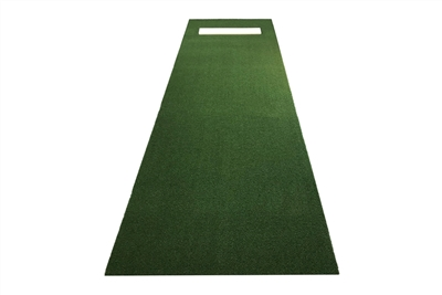 3' x 10' Green Softball Pitchering Mat