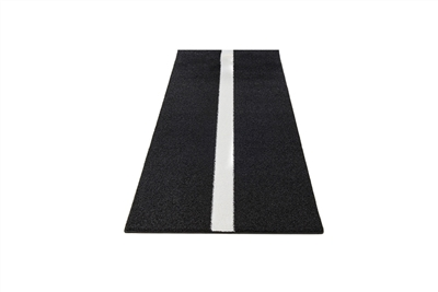 Premium Softball Pitching Mat - 3x6 - Black