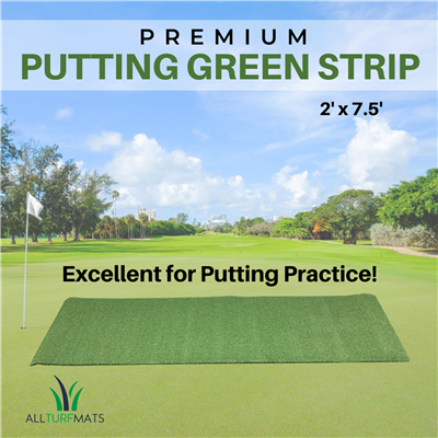 all turf mats premium putting green strip