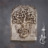 Oak Tree Belt Buckle