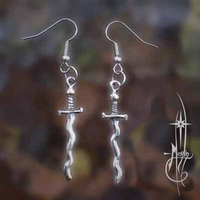 Sun Sword Earrings