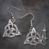 Triquetra Earrings