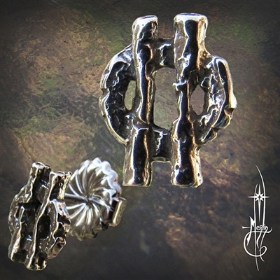 Sigil Stud Earrings