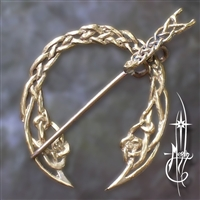 Knotted Penannular Brooch