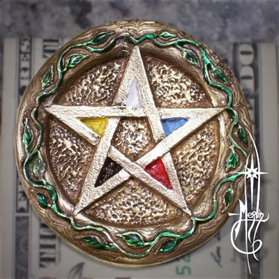 Ace of Pentacles Money Clip