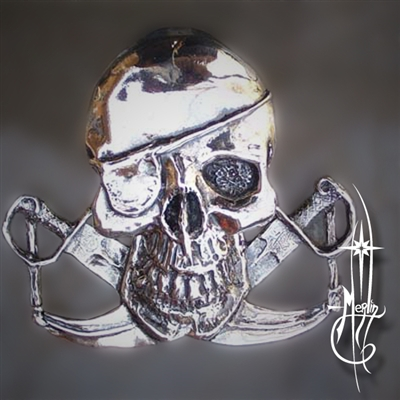 Jolly Roger Money Clip